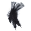 Marabou Feathers 4-6'' Black